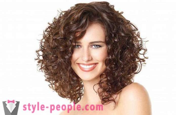 Fryzury Kręcone Włosy Fryzury Na Kręcone Włosy Zdjęcie